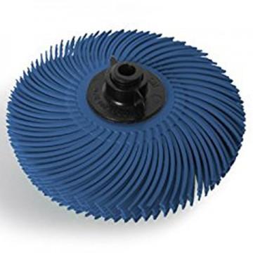 Резинка силиконовая лепестковая синяя 76мм №400