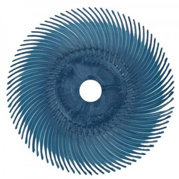 Резинка силиконовая лепестковая синяя 51мм №400