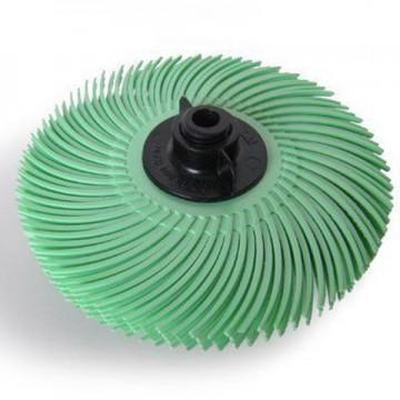 Резинка силиконовая лепестковая зеленая 51мм №1200