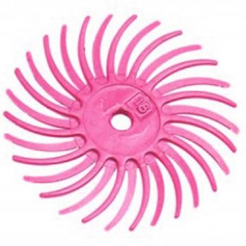 Резинка силиконовая лепестковая розовая 76мм №600