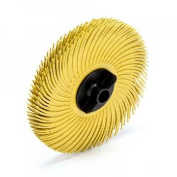 Резинка силиконовая лепестковая желтая 51мм №80