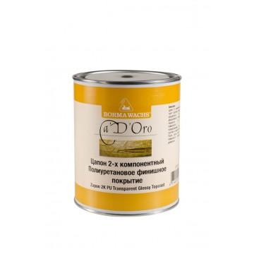 Полиуретановый лак 2-х компонентный Zapon блеск 90% (1 л)