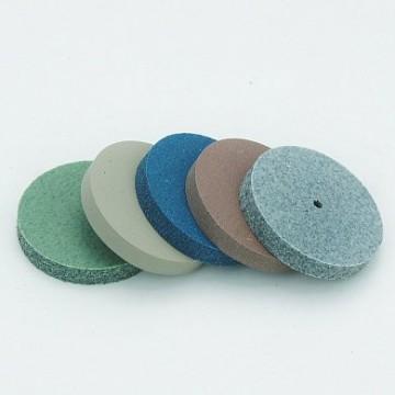 Набор  шлифовальных эластичных дисков  диаметр 24 х толщина 3,5 мм